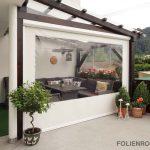 Terrassenrollo windstabil