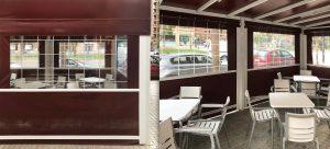 Witterungsschutz Terrasse